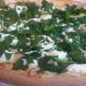 Pizza Ricotta E Spinacci